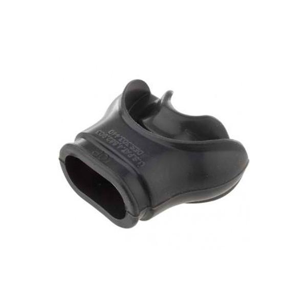 Aqua Lung Black Silicone Divisible COMFO Mouthpiece